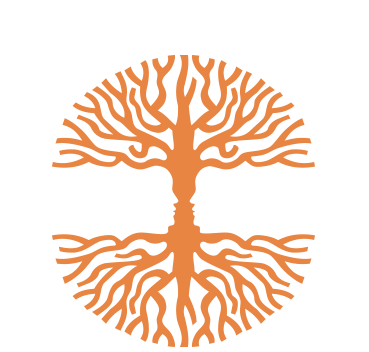symmetrical tree logo