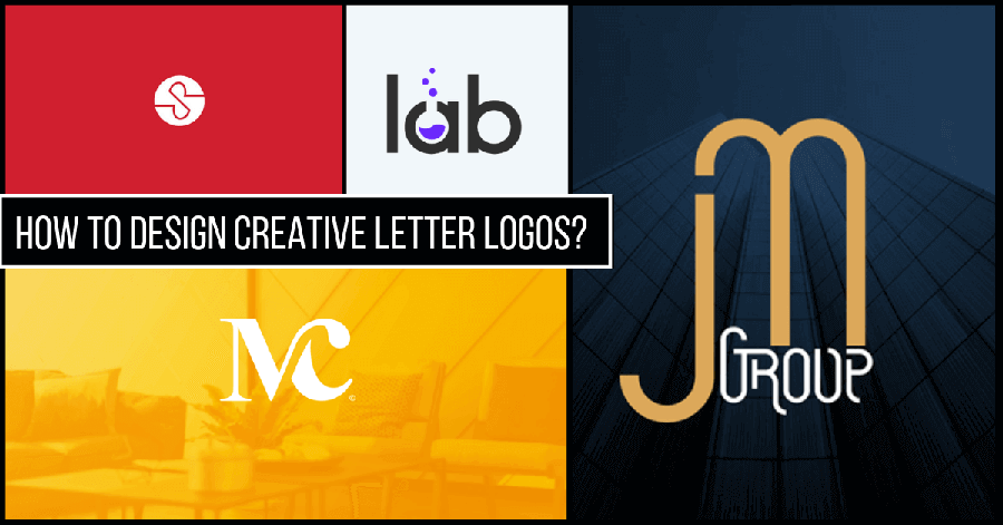 how to design creative letter logos