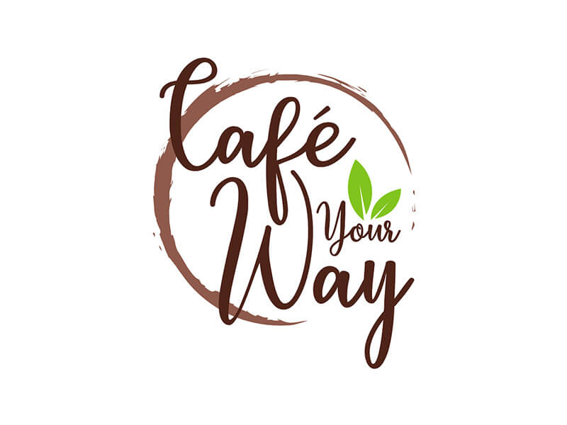 cafe your way circle logo