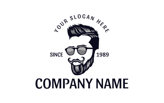 free beard logos design your own beardman logo logodesign net free beard logos design your own