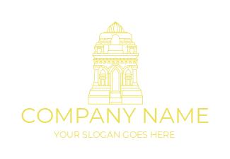 Over 100s Temple Logos   Design a Temple Logo Free
