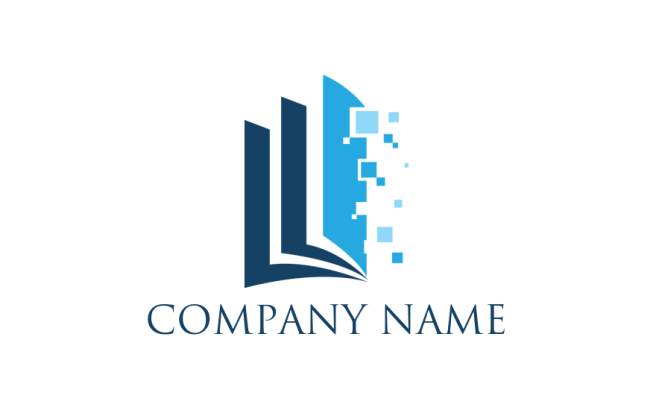 Free Book Logos Book Logo Design Software Logodesign Net
