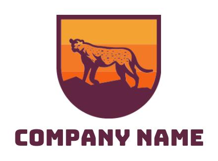 free cheetah logos cheetah logo design maker logodesign net free cheetah logos cheetah logo