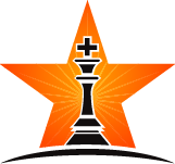 chess king in orange star