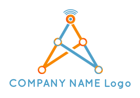 connecting dots globe with circuits | Logo Template by