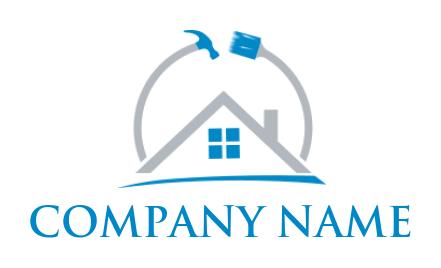 400+ Best Home Remodeling Logos | Free Home Repair Logo Maker