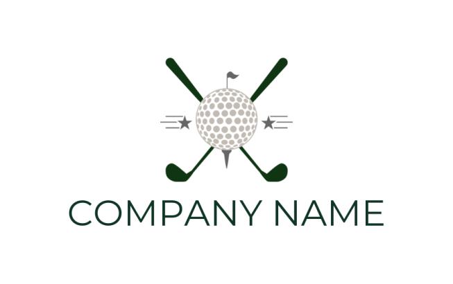 Create Free Golf Logos   Golf Logo Design   LogoDesign net
