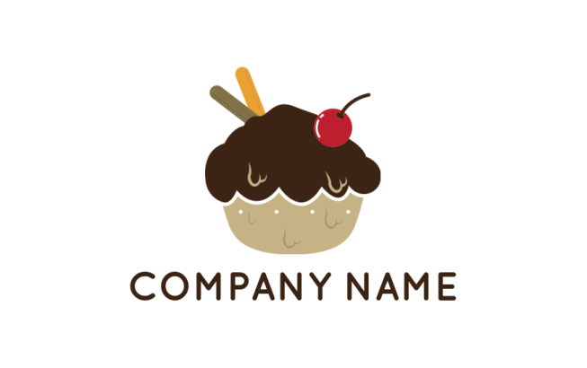 Cupcake Logo Maker | Free Cupcakes Logo Images | LogoDesign net