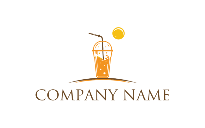 disposable juice glass logo template by logodesign net disposable juice glass logo template