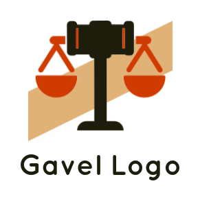 gavel with balance scale