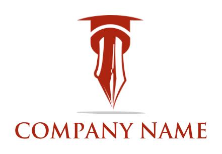 Free Graduation Cap Logos | LogoDesign net
