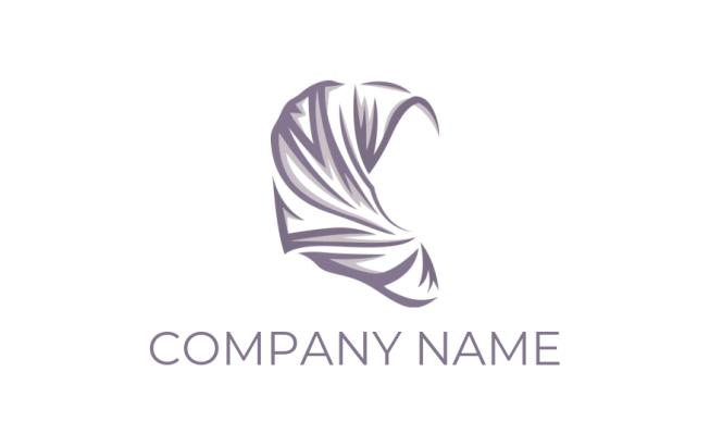 Line Art Hijab Logo Template By Logodesign Net