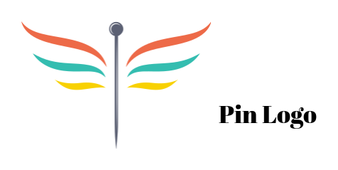 needle with wings flying logo