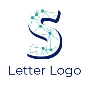 networking merged with letter S