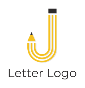 pencil forming letter j