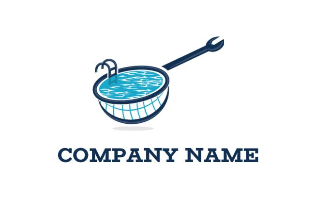 100 Pro Swimming Pool Logos Free Swimming Logo Maker