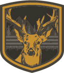 reindeer inside the shield emblem