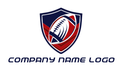 football on fire flames | Logo Template by LogoDesign net