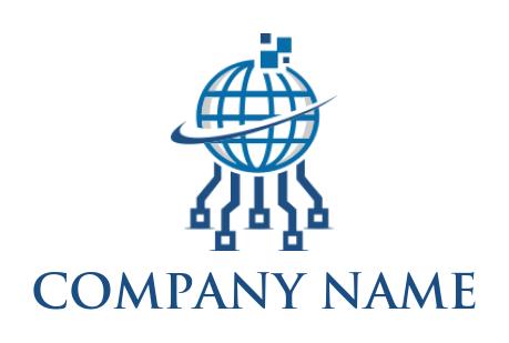 Best Circuit Logo Designs | Free Circuit Logo Maker