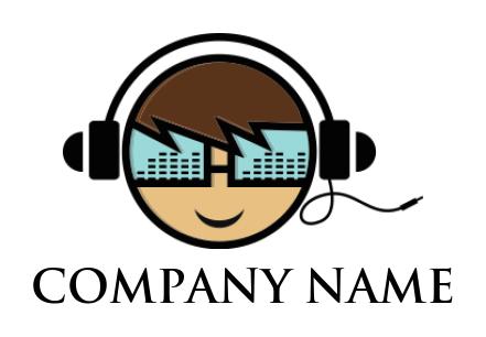 Free Headphones Logos Headphones Logo Designs Logodesign Net