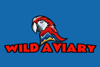angry scarlet macaw mascot