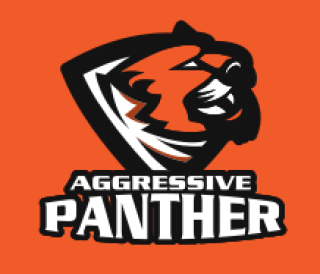 tiger mascot logo with shield